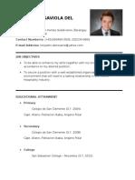 My Resume (Set 2)