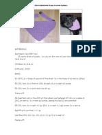 DOG BANDANA Free Crochet Pattern