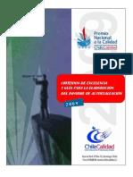 Criterios de Excelencia Pnc 2009