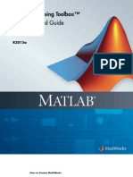 signal processing toolbox in matlab