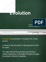 Evolution -My Seminar