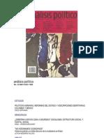 Pécaut, Daniel (1998). La contribución del IEPRI a los estudios sobre la violencia en Col
