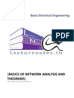 2 Basics of Network Analysis and Theorems