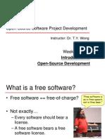 Open-Source Software Project Development Instructor