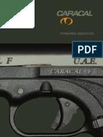 User Manual for caracal pistol