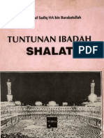 Tuntunan Ibadahshalat-muhammad Sadiq Ha Bin Barakatullah
