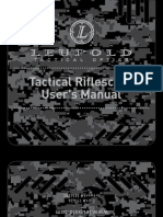 Tactical Scope Manual