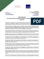 MEFIN Press Release