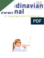 Scandinavian Journal of Organizational Psychology