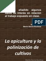 La apicultura y la polinización de cultivos