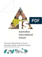 ais junior school parent reading guide 2013