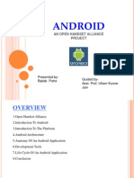 Android Seminar Presentation 2