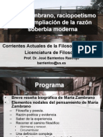 Tema 1 - María Zambrano (1)