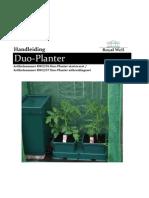 Duo Planter Handleiding
