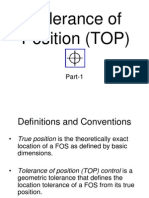 Tolerance of Position (TOP) - 1