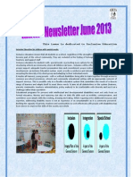 AIKYA Newsletter June2013