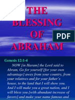 The Blessing of Abraham