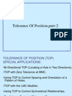 Tolerance of Position (TOP) - 2