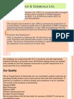 Tirupati Starch & Chemicals Ltd
