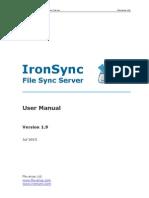 IronSync File Sync Server