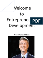 A Presentation on Bill Gates