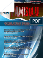 PAMISULU VOL.1 NUMBER 1 (2011)