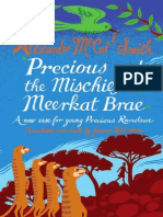 Precious & The Mischief At MeerkatBrae by Alexander McCall Smith, translated into Scots by James Robertson Extract