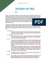 Article BriefHistoryOfTRIZ
