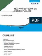 Evaluarea Proiectelor de Investitii Publice