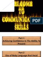 Communication Skills and Strategies
