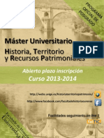 Folleto Master Final Espanol 13-14