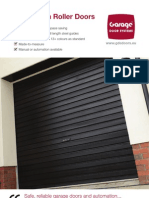 GDS Single Skin Roller Doors Brochure