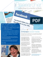 PFA Research Newsletter Spring 09