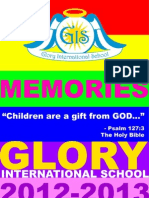Glory Yearbook 2012-2013