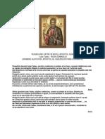 Rugaciune Catre Sfantul Apostol Iuda Tadeu
