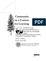 Community as Context for Learning