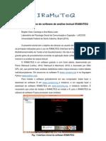 Tutorial Iramuteq 2013 Portugues