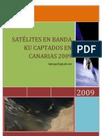 Satélites captados en Canarias 2009