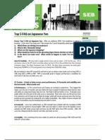 SEB's Asia Strategy Focus