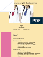 Sommer- Schulkleidung für Quartanerinnen