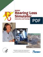 NIOSH Simulador de pérdida auditiva