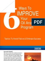 Six Ways to Improve Your Oil Analysis Program