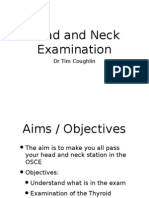 Head and Neck Examination