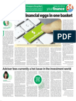 Don't crowd financial eggs in one basket