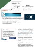 Rebuttal to the USBE Common Core Presentation