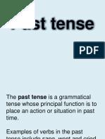 ELA Simple Past Tense Print