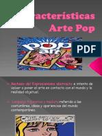 Características Arte Pop