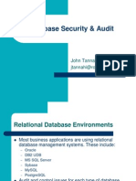 11. Database Security