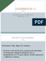 MEDICINA - RUIZ - CASO CLÍNICO 01 - HIPERTENSIÓN ENDOCRANEAL