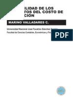Contabilidad de Los Elementos Del Costo de Produccion